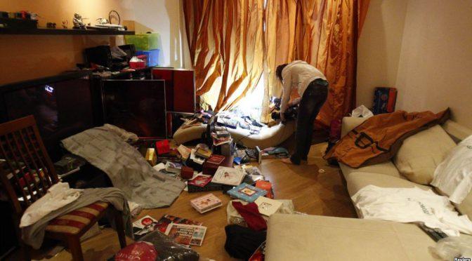 Брест: очередной обыск у анархиста
