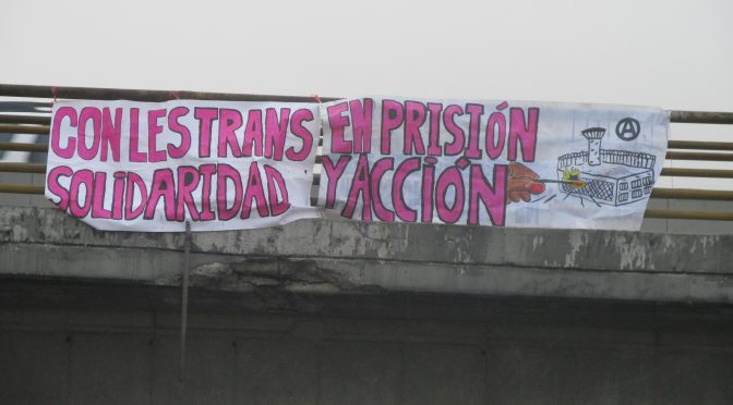 (Bogota, Colombia) Trans Prisoner Day of Action and Solidarity
