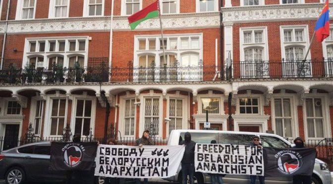 Еще одна акция солидарности прошла в Лондоне