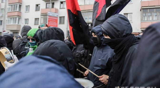 Dozens of anarchists arrested in Belarus after anti-government protests