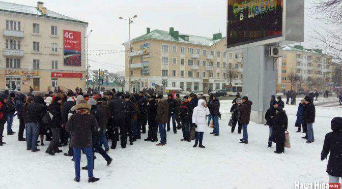 Преследования активистов в Барановичах